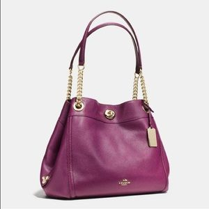 Make an offer. Coach Edie Turnlock  FREE SHIPPING